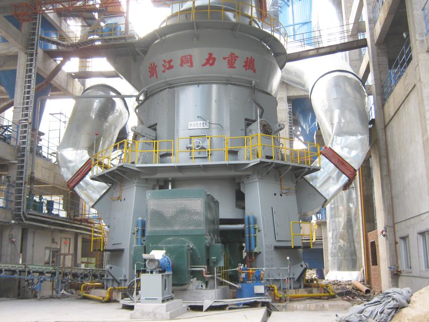 同力重机生产的水泥立磨机设备