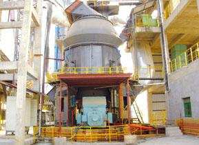 20万吨矿渣立磨生产线