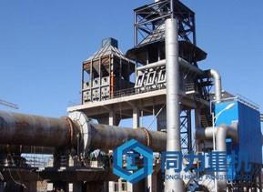 800t/d活性石灰生产线解决方案