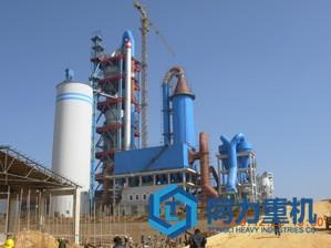 日产4000吨水泥立磨生产线解决
