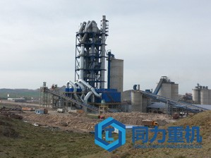 日产7000吨水泥立磨生产线