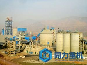 日产12000吨水泥立磨生产线解决