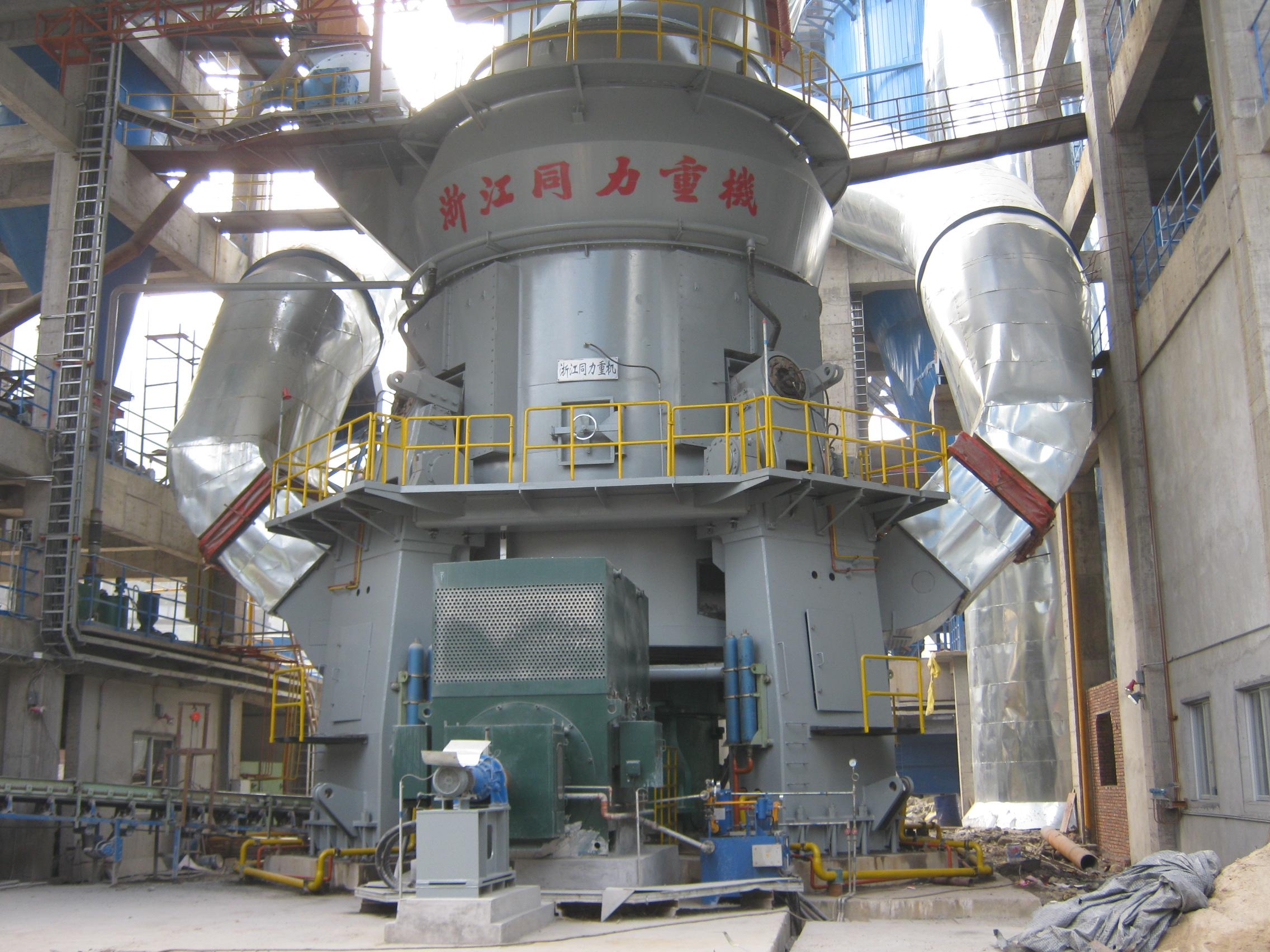 脱硫石灰石立磨机