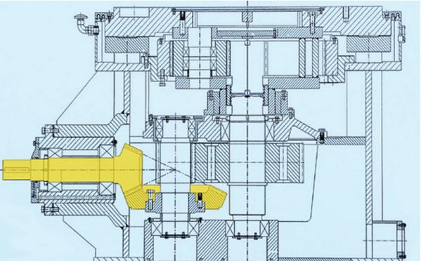 立磨减速机结构图及相关介绍