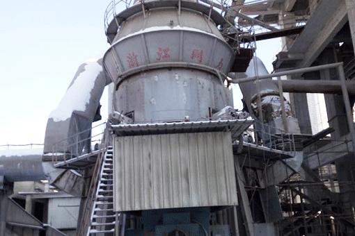 年产60万吨矿渣立磨生产线