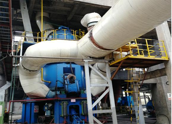 年产30万吨煤粉矿渣立磨生产线