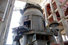 非金属矿在超细磨粉机中的应