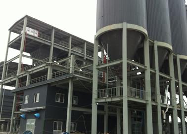 时产200吨水泥立磨机生产线图片